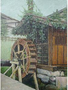 妻籠の水車小屋